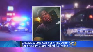 Pastors Want Officer Who Killed Jemel Roberson Fired