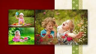 Детский альбом (образец 4)   Слайд-шоу из фото