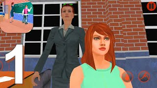 Virtual High School Teacher 3D - Gameplay Walkthrough Part 1 (Android, iOS) screenshot 4