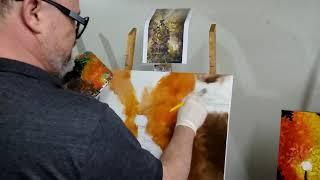 Pintura em Tela - Caxias do Sul, RS - Alunos em Aula - Atelier Numer Artes
