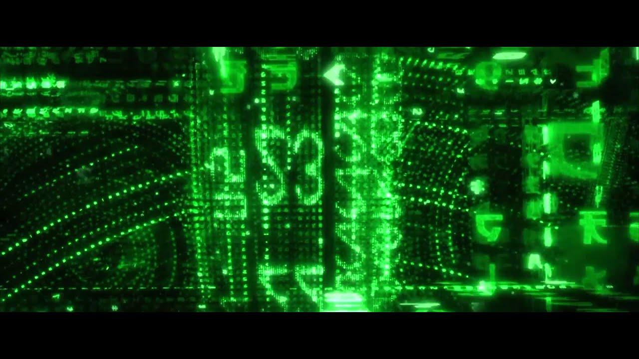Moving Animation Wallpaper For Desktop Matrix Reloaded Intro 1080p Youtube
