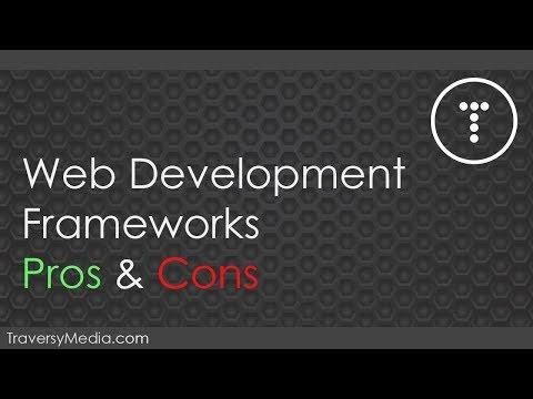 Web Development Framework Pros & Cons