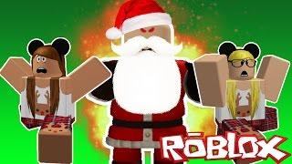 FLUCHT VOR DEM NORDPOL! ROBLOX Weihnachtsobby!