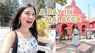 A Day In Malacca, Incredible City of Colours⎮Malaysia Travel Vlog