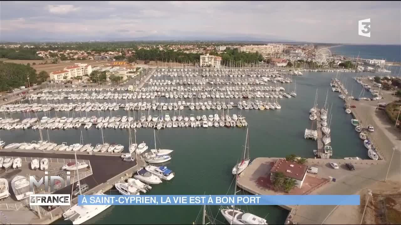 Viree Au Port De Saint Cyprien Youtube