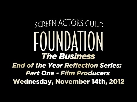 The Business: End of the Year Reflection Series: Part One - Film Producers