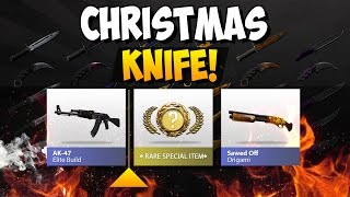 CS:GO - I unboxed a miracle Christmas Knife! :D
