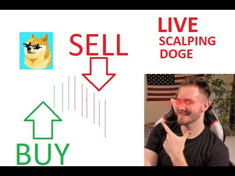 🐋Tametheark Live Scalping DOGE with Live Discord Feed #DOGE #BTC #CRYPTO 🚀🚀 LIVE