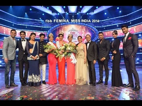 fbb Femina Miss India 2014 Grand Finale Episode - Part 1