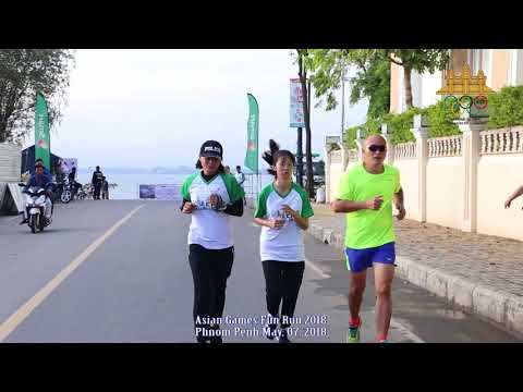 Asian Games Fun Run Phnom Penh