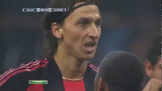 Milan - Udinese. Serie A-2010/11 (4-4)
