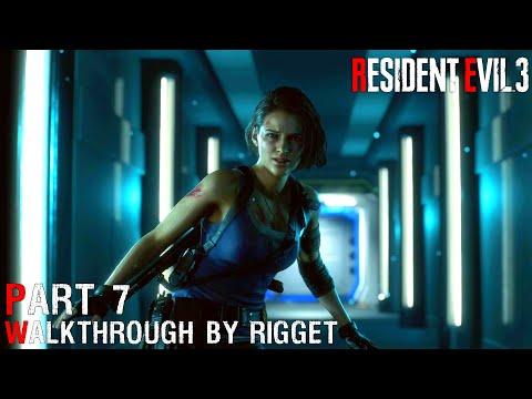 """Resident Evil 3 Remake Прохождение Часть 7 """"Лаборатория - 2?"""""""