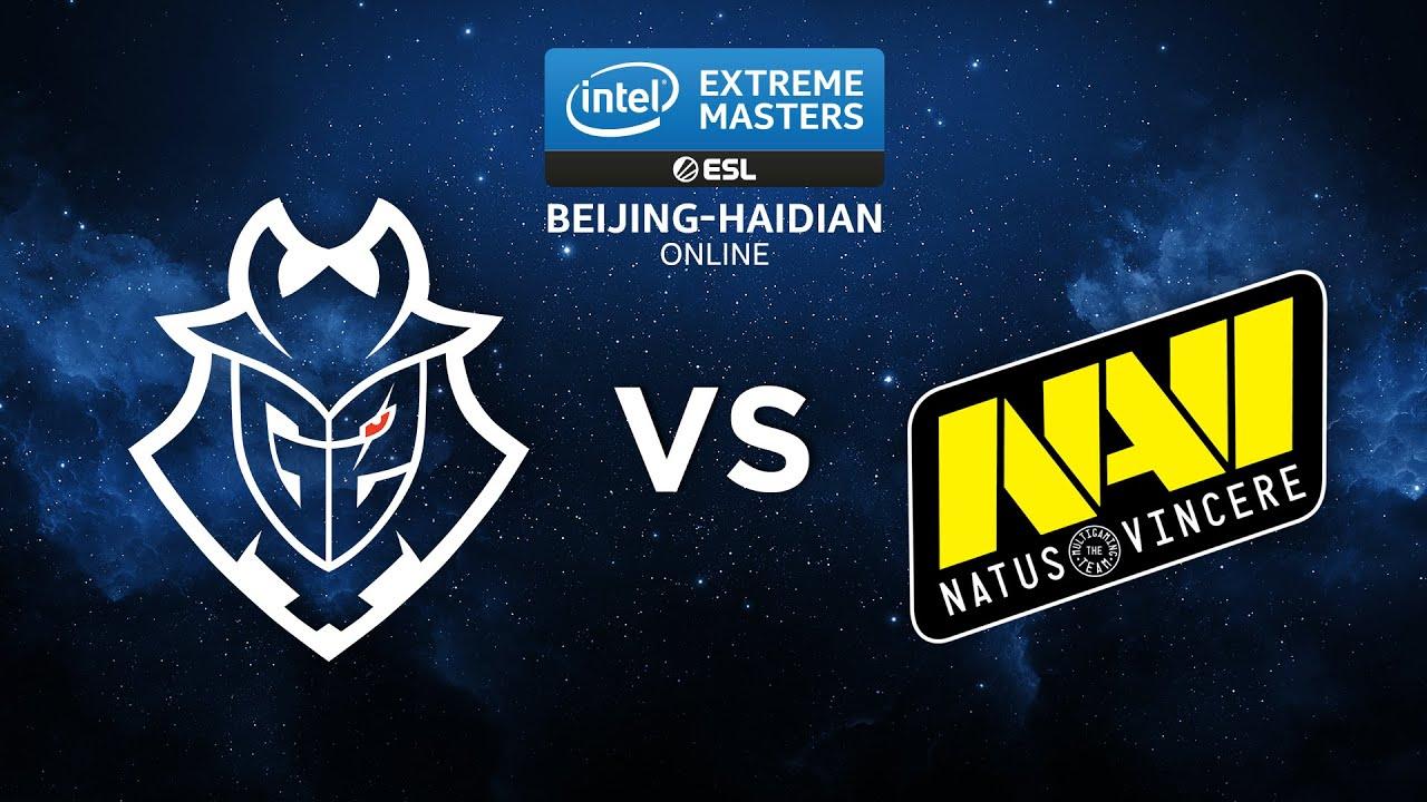 NaVi vs G2 - IEM Beijing Haidian 2020 - 1/2 Finale - MAP2