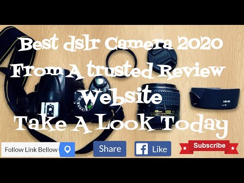 Best Dslr Camera For Beginners 2020 Best DSLR Camera 2020 from A Trusted Reviews Site   YouTube