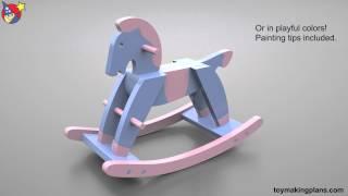 Wood Toy Plans Paul Revere Rocking Horse
