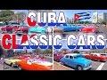 CUBA CLASSIC CARS - CUBA 2017 4 K