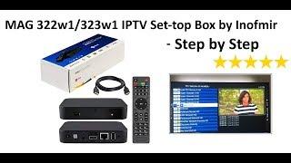 MAG 322w1/322w1 IPTV Set-top B…