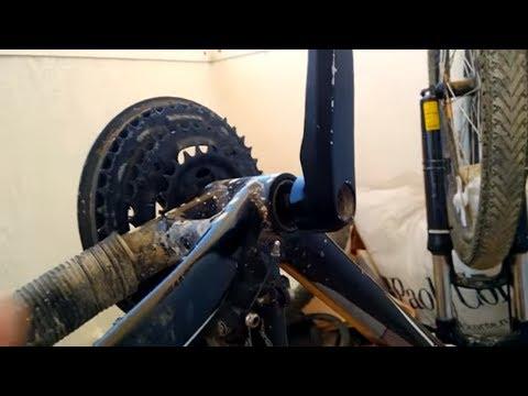 🚳🚴💪Ломаем велосипед - как снять прикипевшие шатуны и передние звезды?