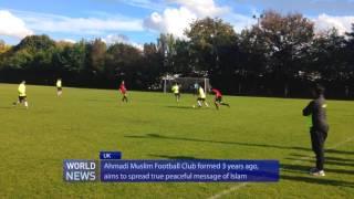 Ahmadiyya Muslim Youth FC take on Merton South