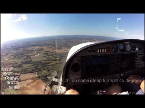 Sept 20 2015 DA40 Checkride Maneuvers