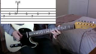 Guitar Solo Breakdown - Blue Sky Challenge
