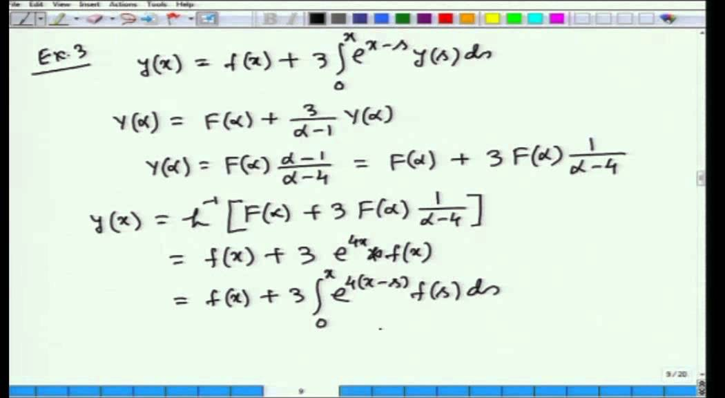 Mod-01 Lec-25 Calculus of Variations and Integral Equations