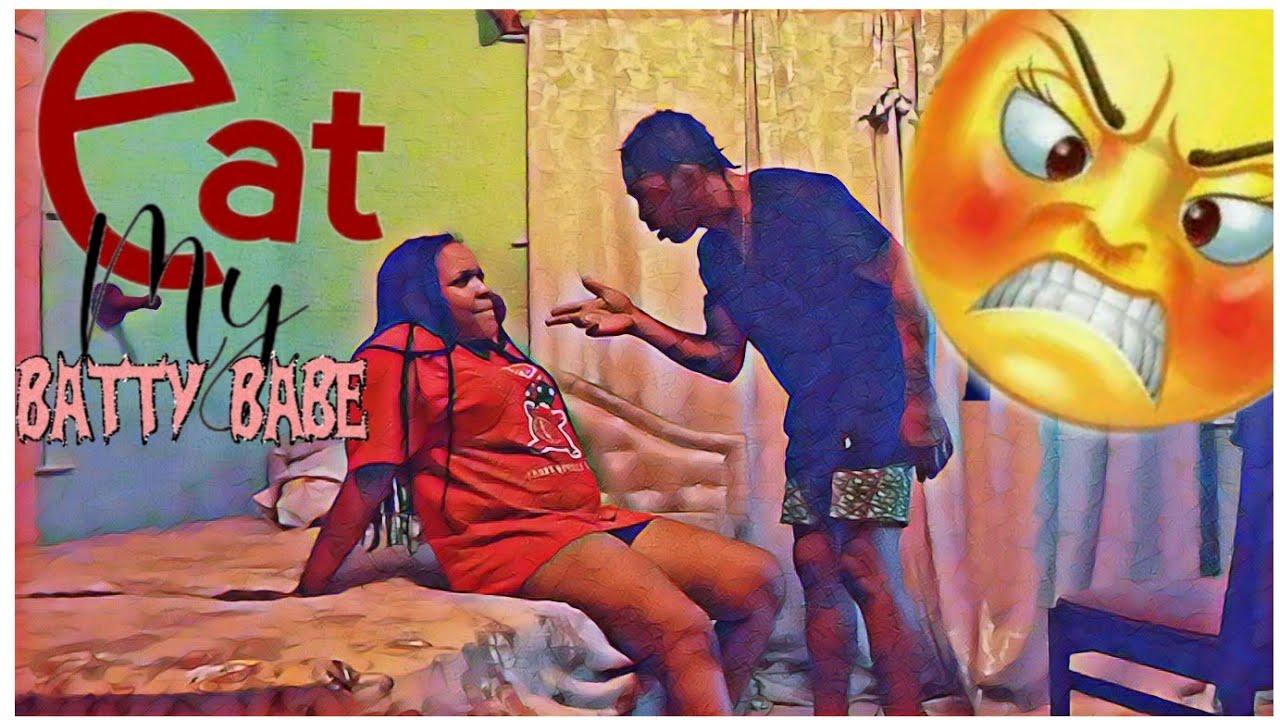 Eat My B*tt Prank On Boyfriend *He Got Mad *