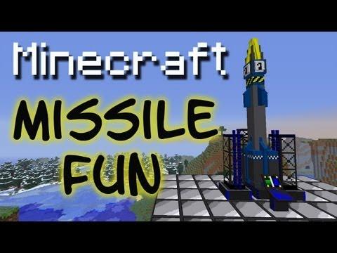 Minecraft Voltz - Fun with Missiles #1