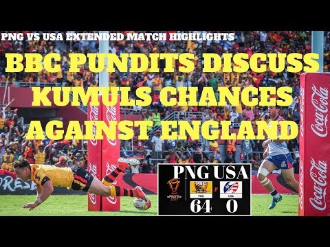 PNG KUMULS VS USA EXTENDED HIGHLIGHTS (RLWC 2017)
