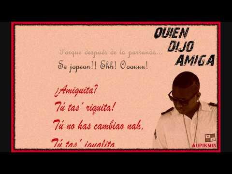 El boys C - Quién Dijo Amiga (Con letra)