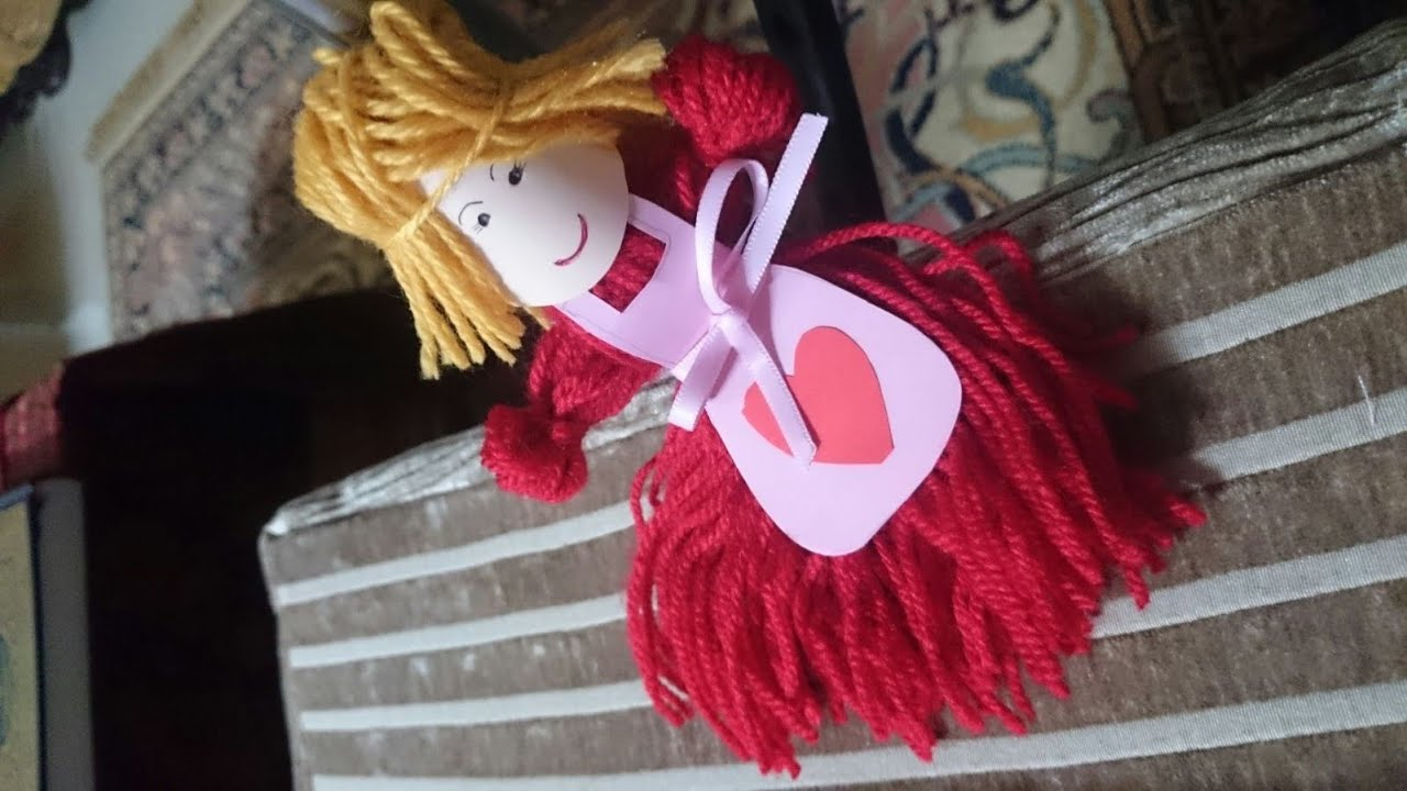 How to make a doll of threads with their own hands 31