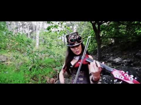 League of Legends Caitlyn plays Warriors   Imagine Dragons Electric Violin Cover