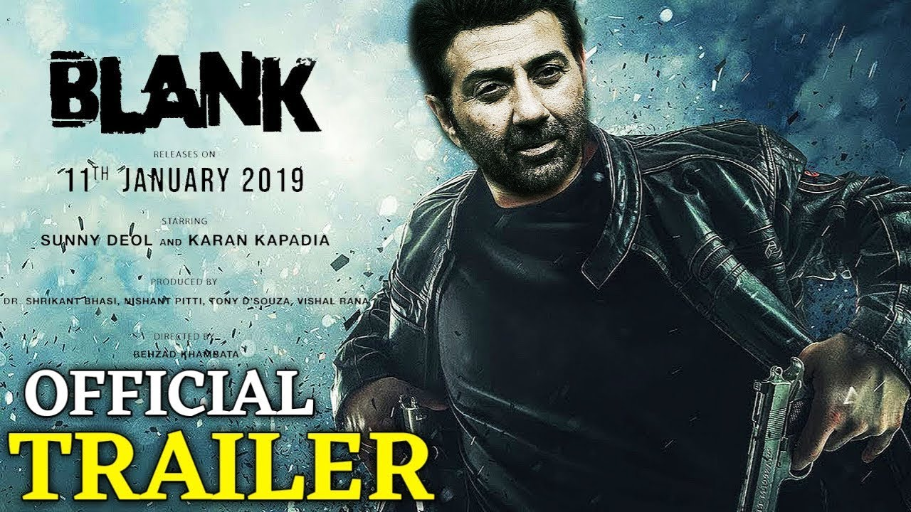 Blank Movie Trailer Releasing | Sunny Deol | Karan Kabadiya