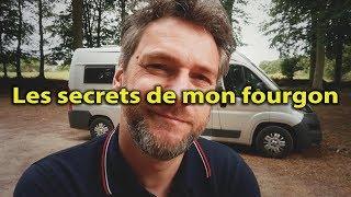 PRÉSENTATION 2️⃣ TOUS LES SECRETS ⛔️ de mon FOURGON AMÉNAGÉ comme un CAMPING CAR - VAN LIFE
