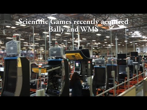 Scientific Games, Bally, WMS Production Tour