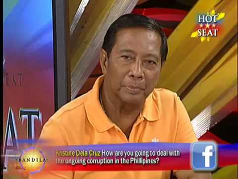 Hot Seat: Jejomar Binay [Part 1]