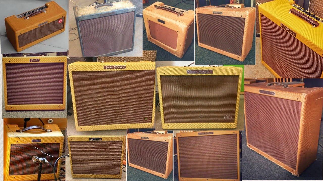 14 Fender Tweed Originals Reissues And Clones Youtube Bassman 5f6 Guitar Effect Schematic Diagram
