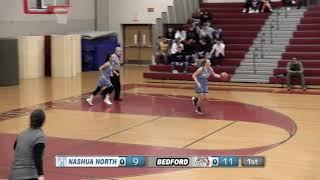 Division 1 Girls Basketball Playoffs - Nashua North vs Bedford 2-27-19
