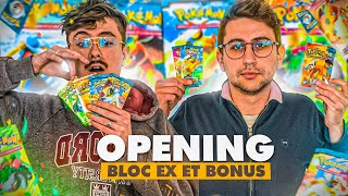 OPENING POKEMON : On ouvre des Boosters du bloc EX