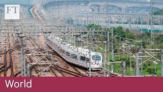 China's high speed rail boom