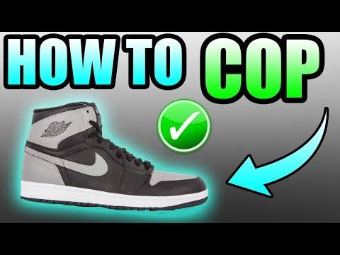 How To Get The Jordan 1 SHADOW !   Jordan Retro 1 SHADOW Release Info !