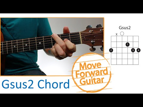 Video Guitar Chords For Beginners Csus2