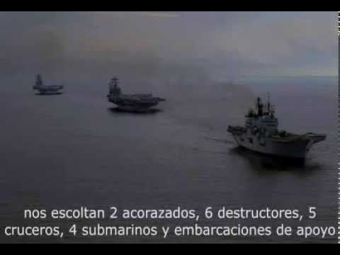 CONVERSACIÓN DE RADIO: GALLEGOS - AMERICANOS, GOLFO PÉRSICO,