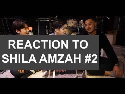 Korean Guys React to Shila Amzah's