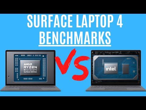 Surface Laptop 4 AMD vs Intel Benchmark Tests: AMD Ryzen 5 vs Intel 11th Gen i5