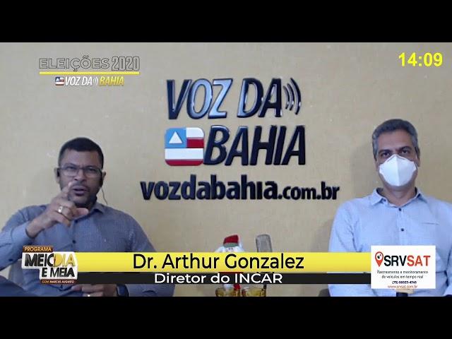Meio-dia e meia live Dr. Arthur Gonzelez e Pr. Reinaldo Barreto do APRISCO