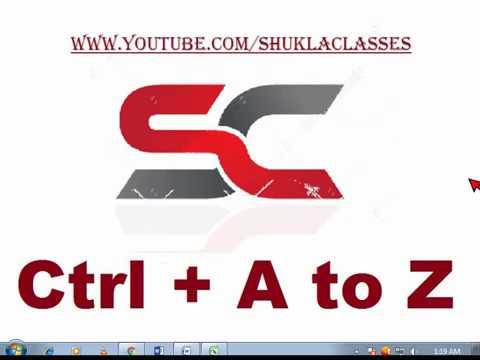 2.1 ) ALL KEYBOARD SHORTCUT IN HINDI | A TO Z SHORTCUT IN HINDI |  BASIC COMPUTER TRICKS IN HINDI