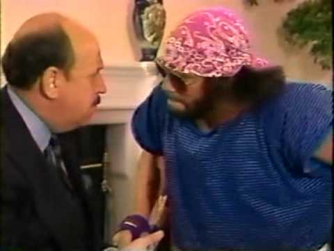 Mean Gene interviews Macho Man about Flair/Elizabeth (03-15-1992)