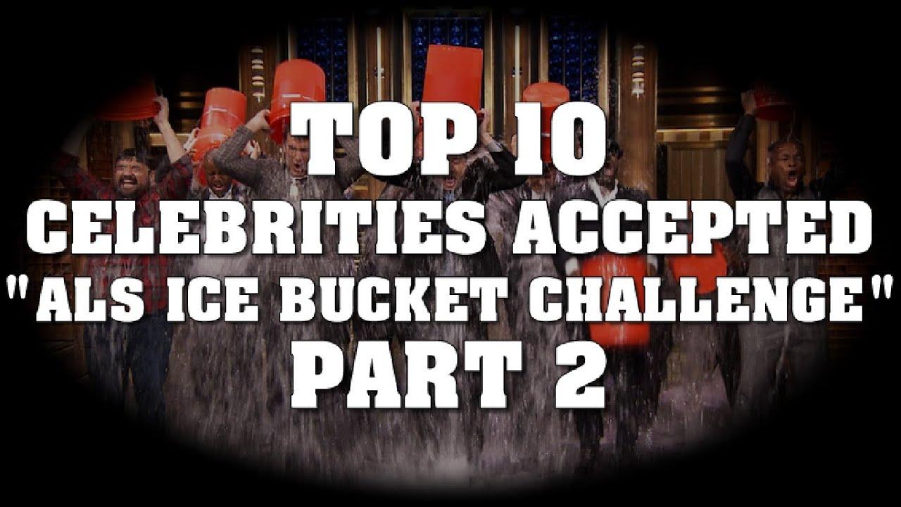 The 50 Best Celebrity ALS Ice Bucket Challenges - YouTube