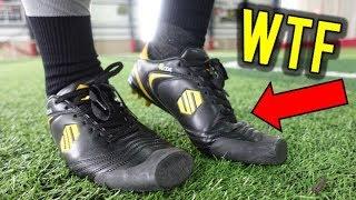 TESTING THE WEIRDEST FOOTBALL BOOTS EVER!